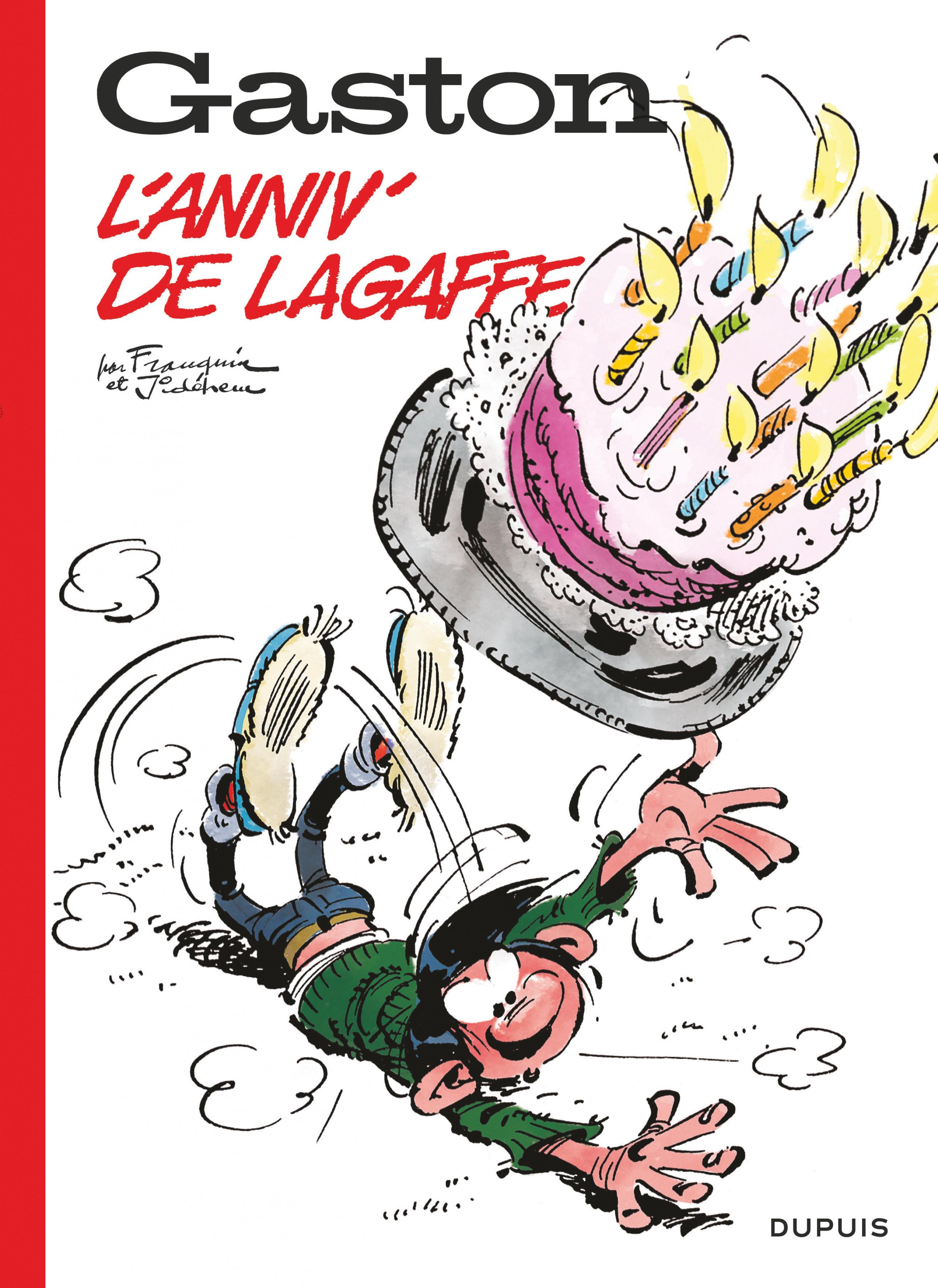 Gaston hors-série 60 ans - L'anniv' de Lagaffe