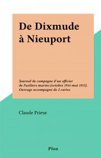 De Dixmude à Nieuport