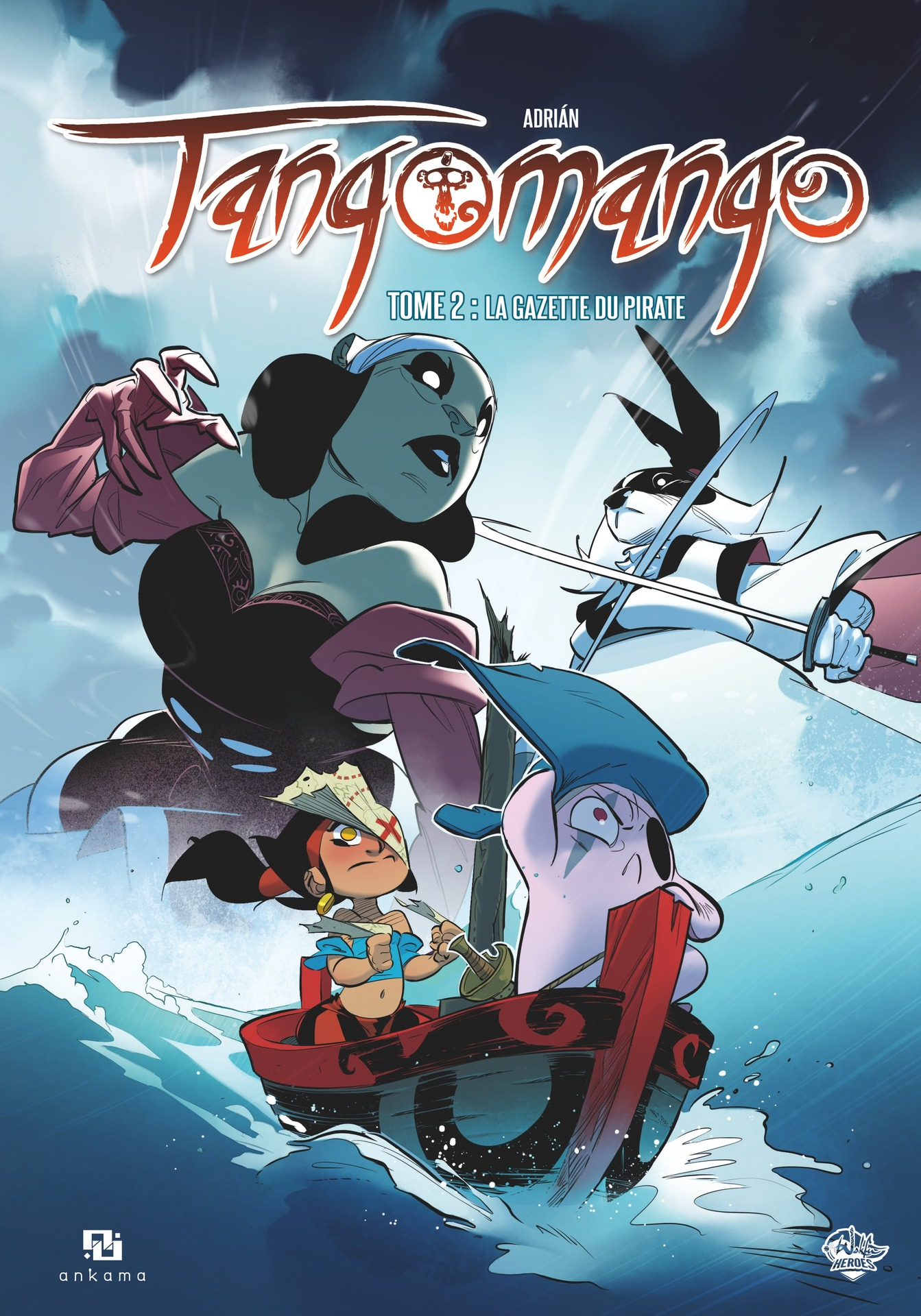 Tangomango - Tome 2 - La Gazette du pirate | Adriàn,