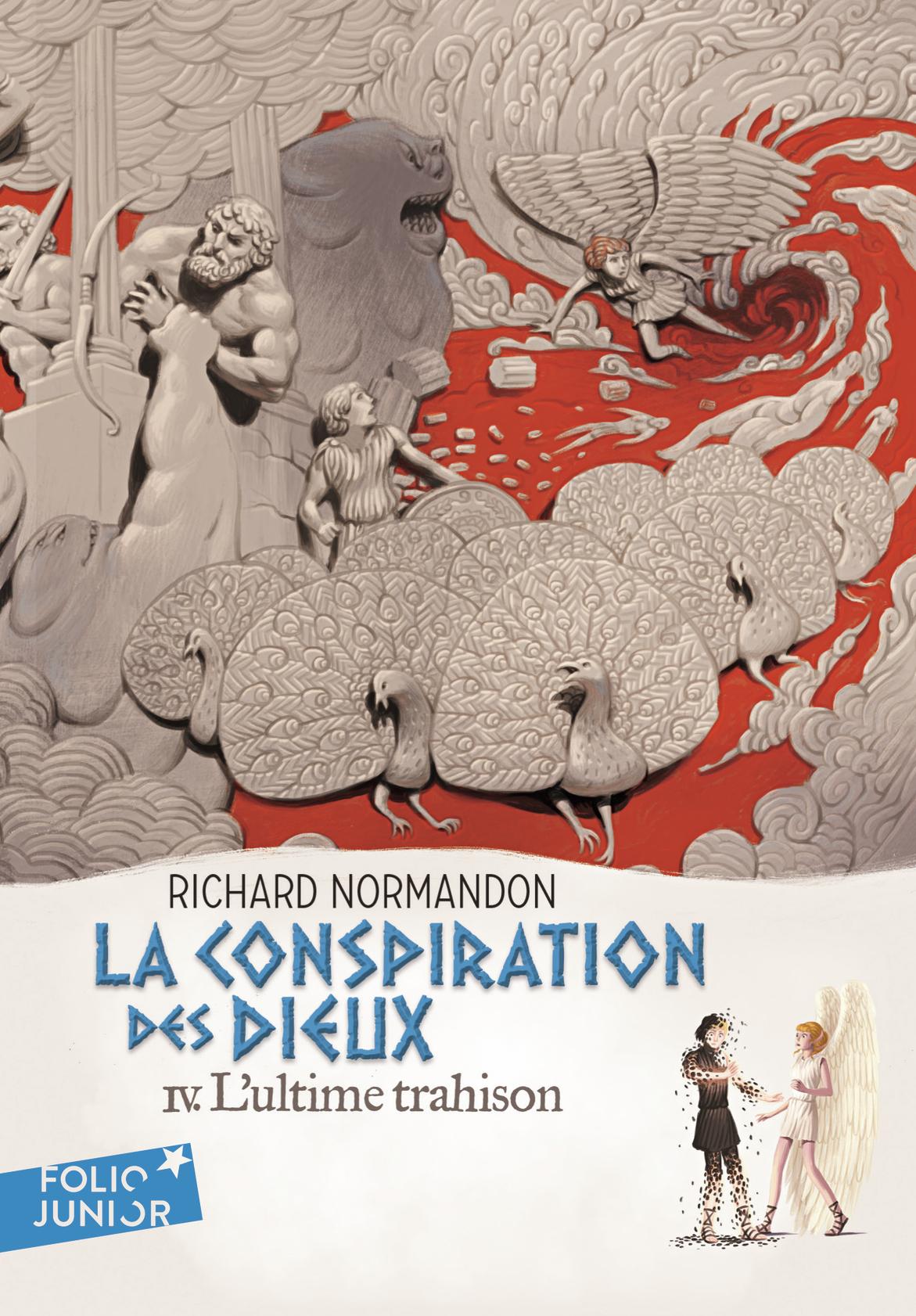 """Afficher """"La conspiration des dieux (Tome 4) - L'ultime trahison"""""""
