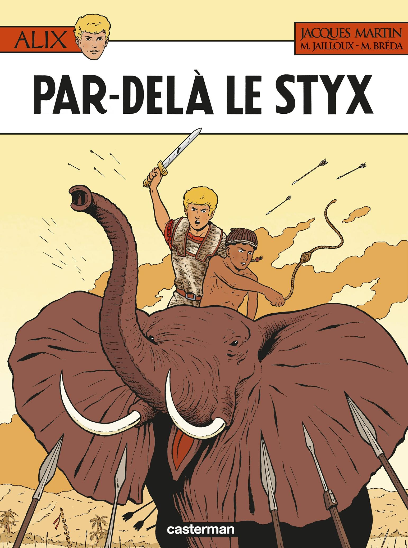 Alix (Tome 34) - Par-delà le Styx | Martin, Jacques