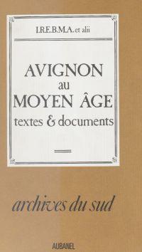 Avignon au Moyen Âge