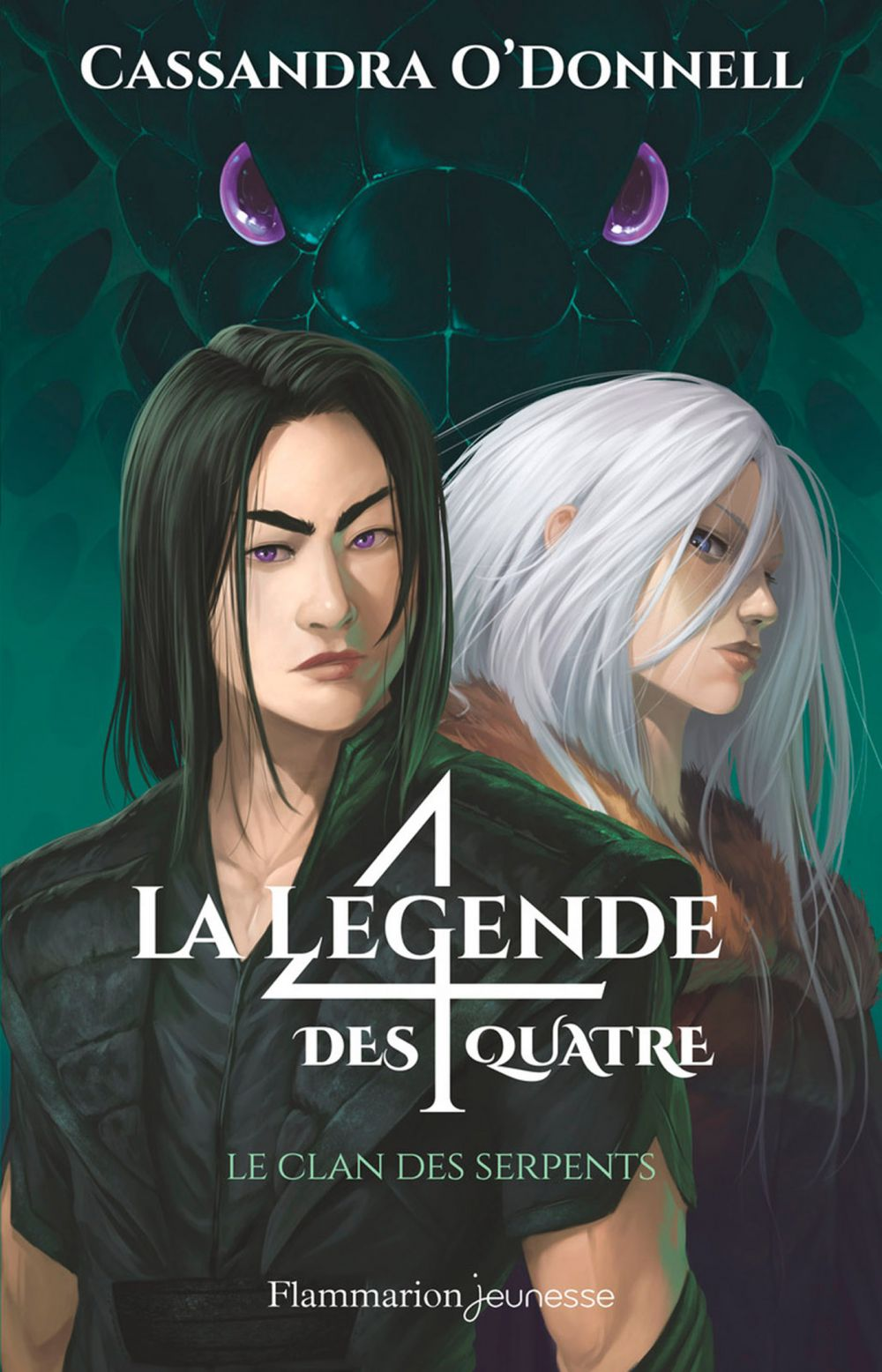 La légende des quatre (Tome 3) - Le clan des serpents