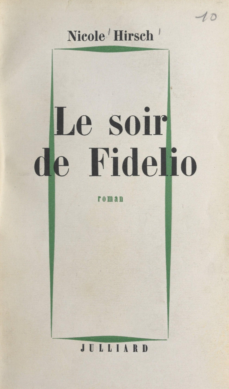 Le soir de Fidelio