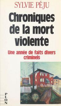 Chroniques de la mort violente