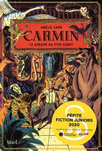 Carmin, tome 1 - Pépite Fiction Juniors Montreuil 2020 | Sarn, Amélie. Auteur
