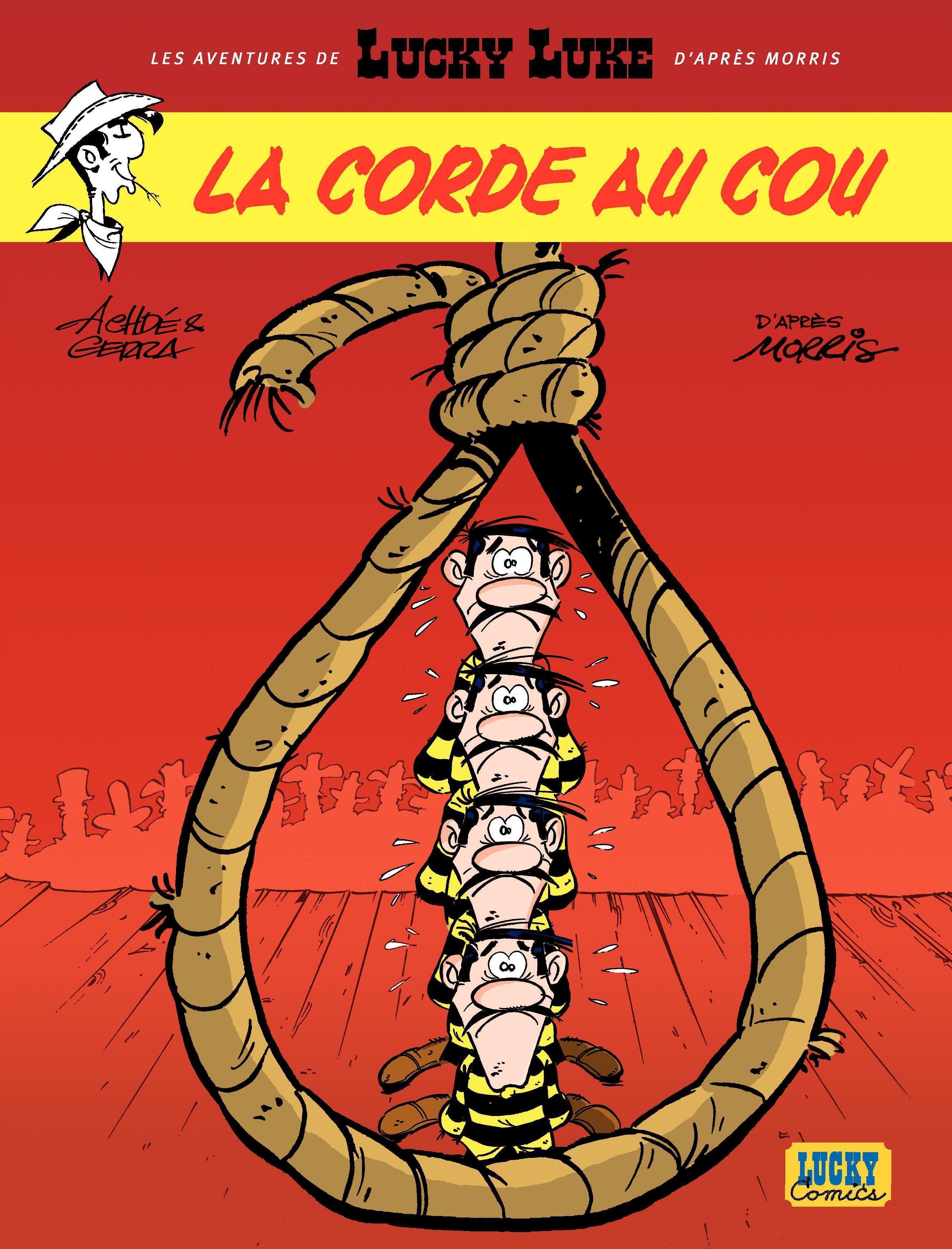 Les aventures de Lucky Luke d'après Morris - tome 2 - La corde au cou