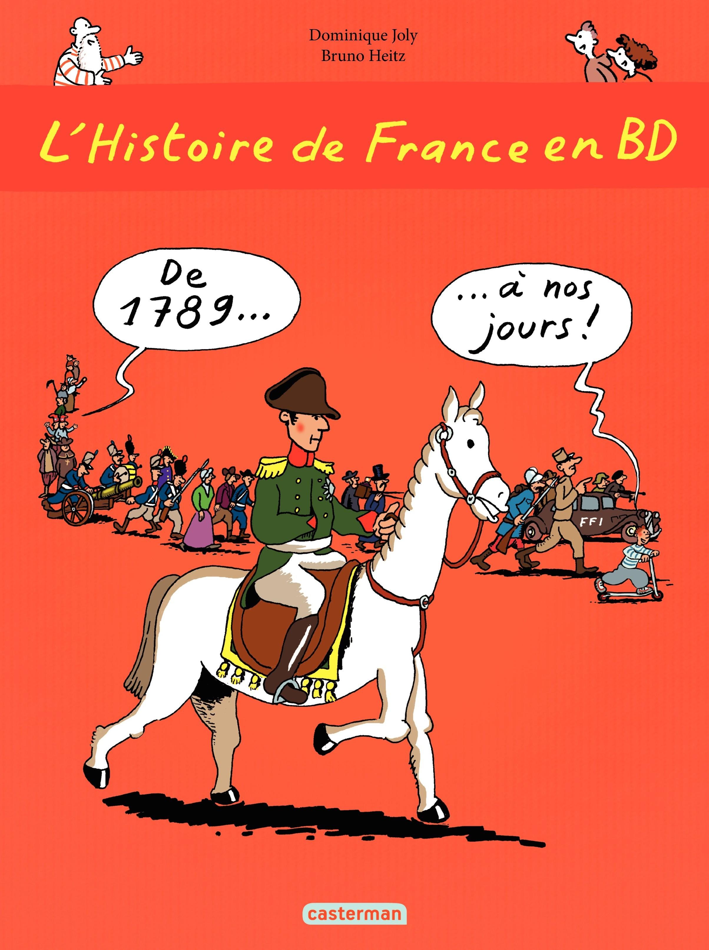L'histoire de France en BD - De 1789 à nos jours
