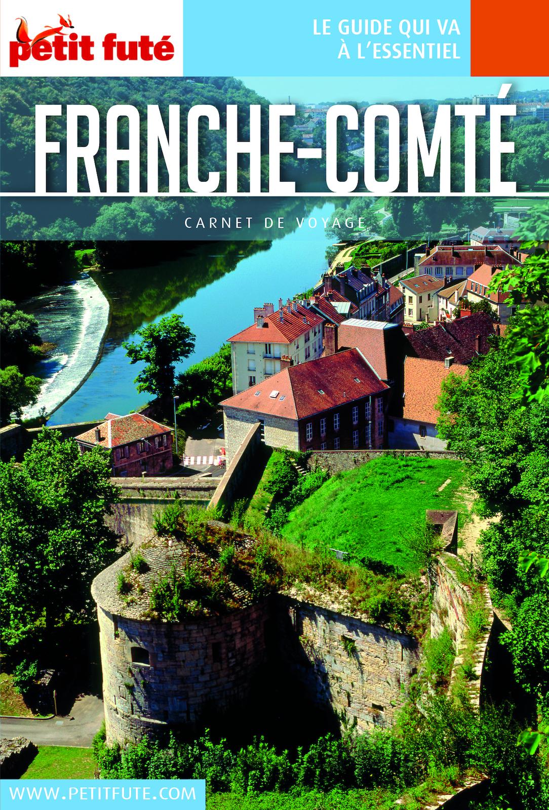 FRANCHE COMTÉ 2019/2020 Carnet Petit Futé   Auzias, Dominique