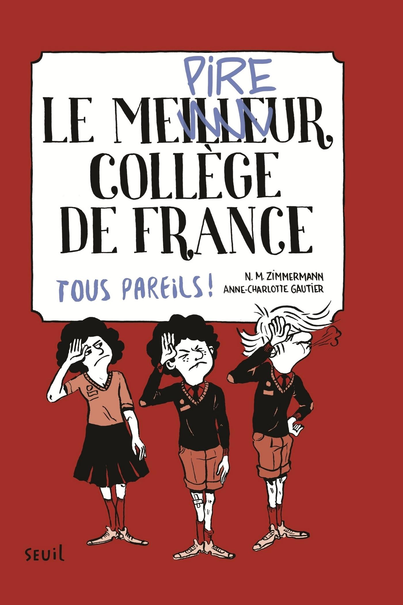 Le Meilleur (pire) collège de France, tome 2. Tous pareils ! | Zimmermann, N. M.