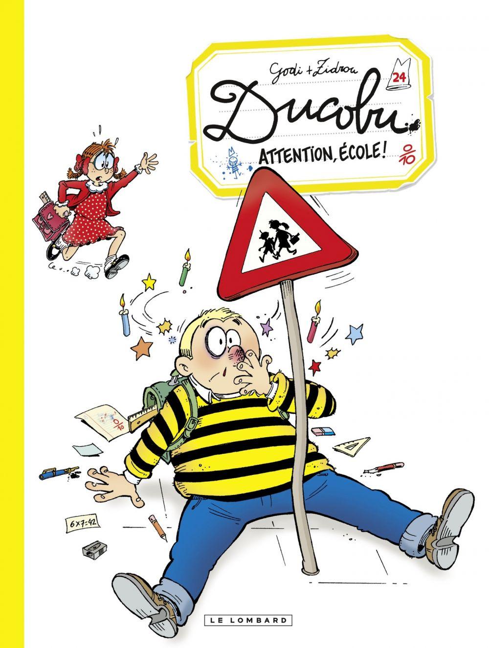 Ducobu  - Tome 24 - Attention, école! | Zidrou, . Auteur