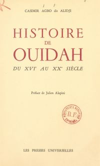 Histoire de Ouidah du XVIe ...