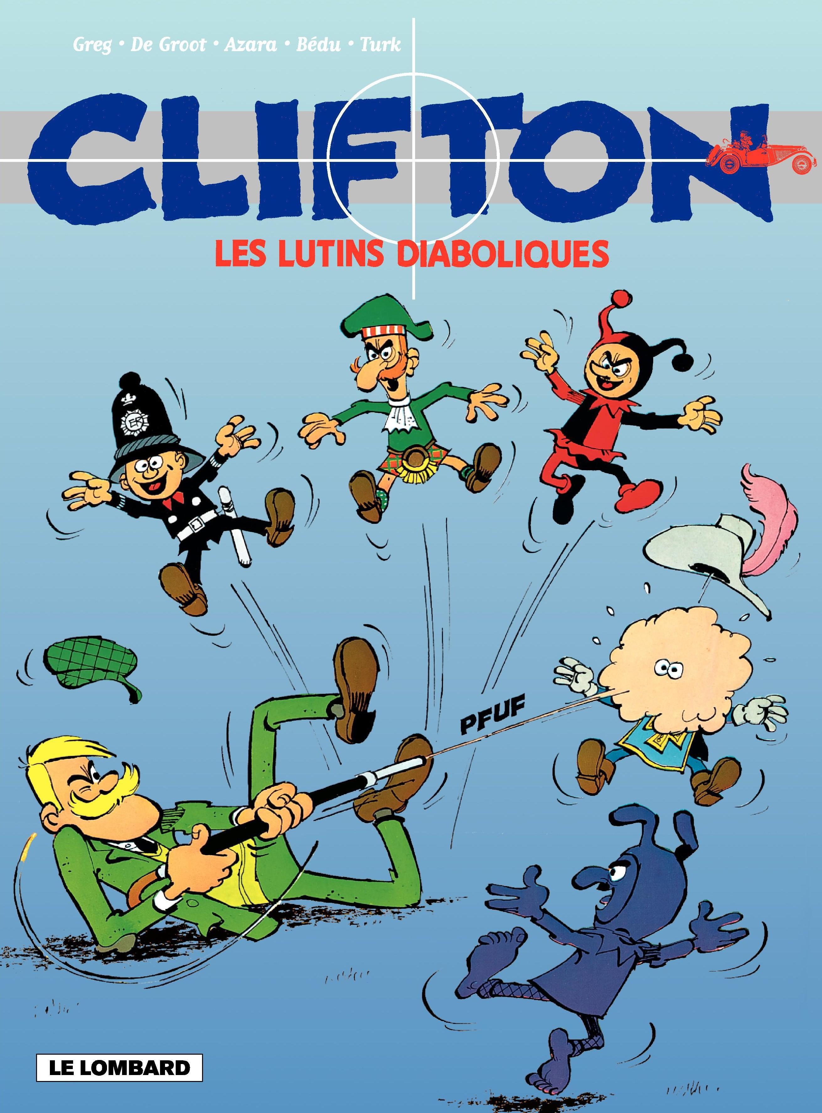 Clifton - tome 17 – Les Lutins diaboliques
