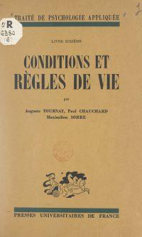 Conditions et règles de vie
