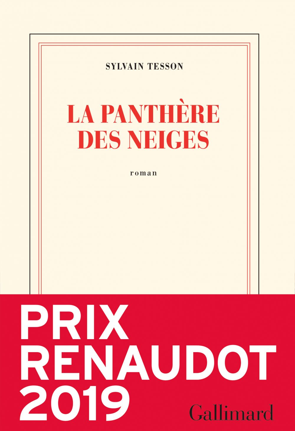 La panthère des neiges | Tesson, Sylvain. Auteur