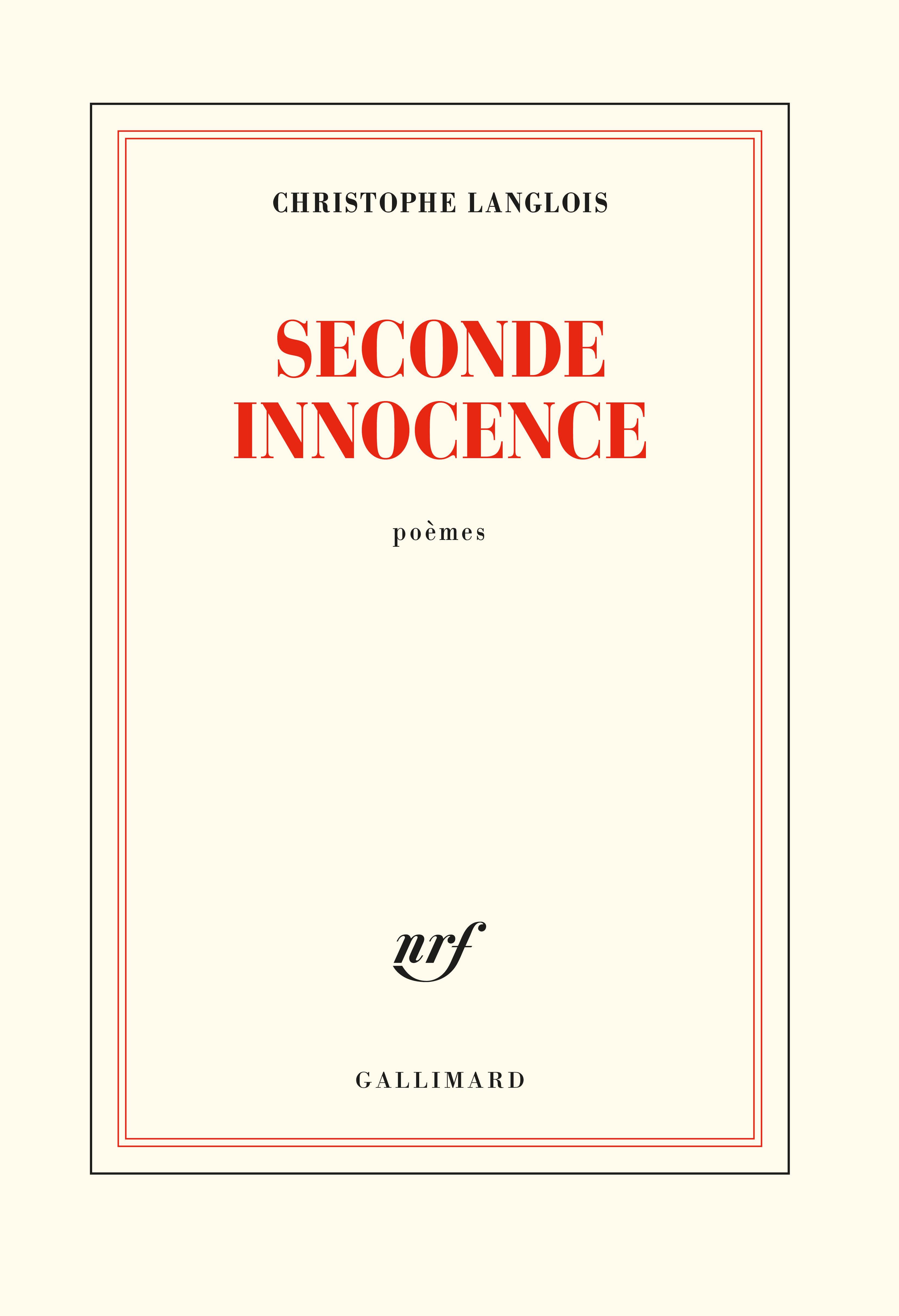 Seconde innocence