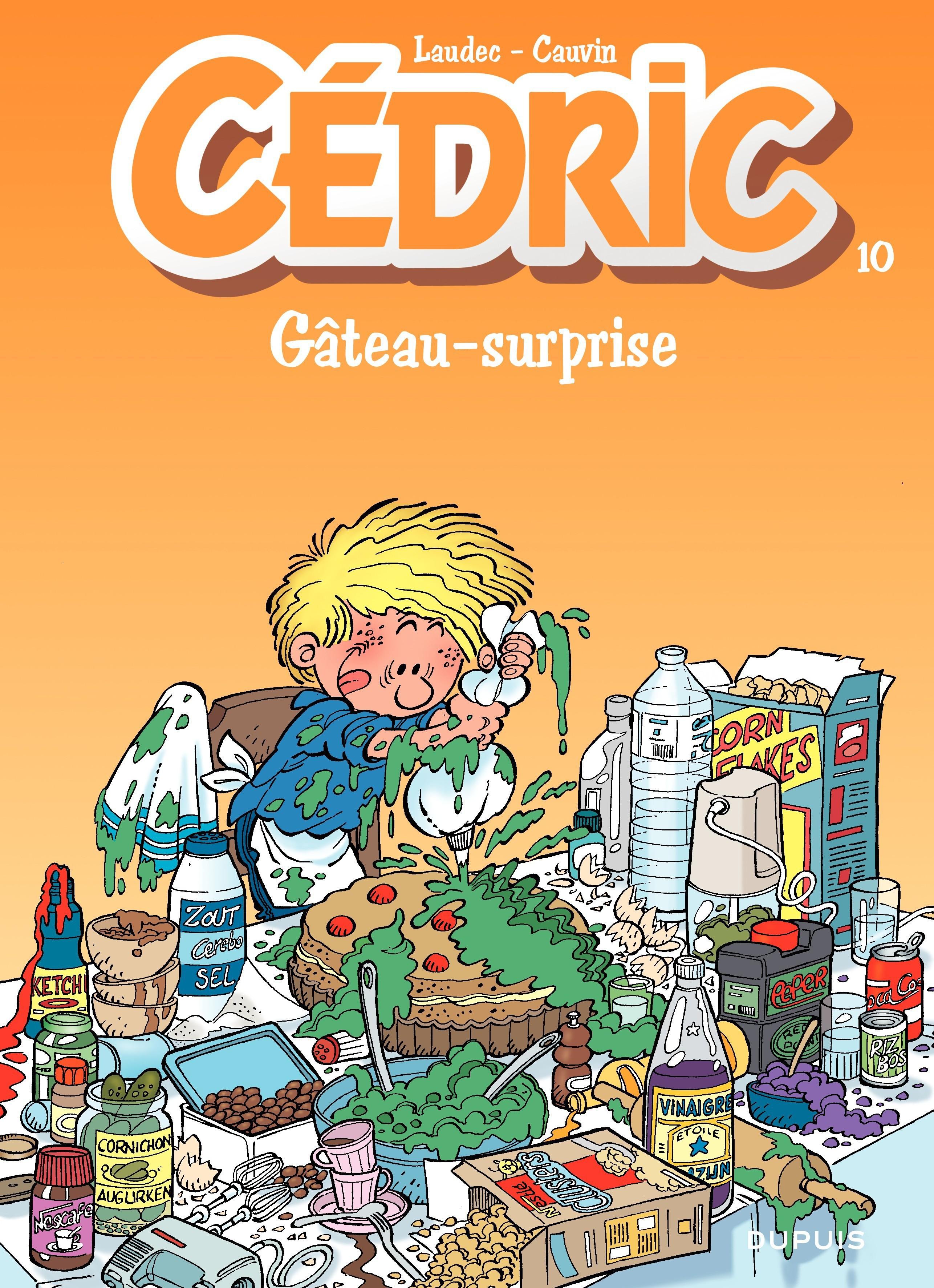 Cédric - 10 - GATEAU SURPRISE