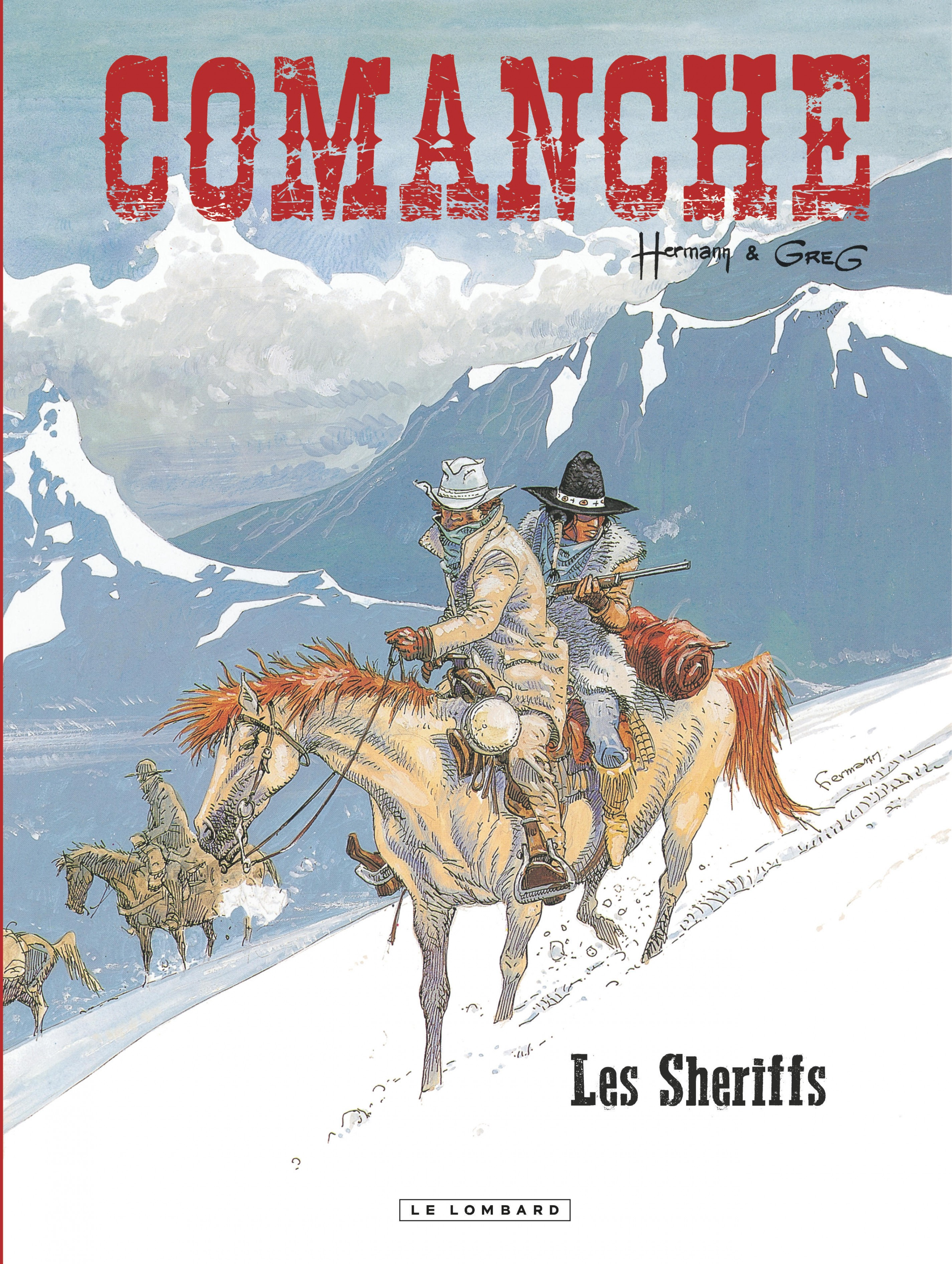 Comanche - Tome 8 - Sheriffs (Les)