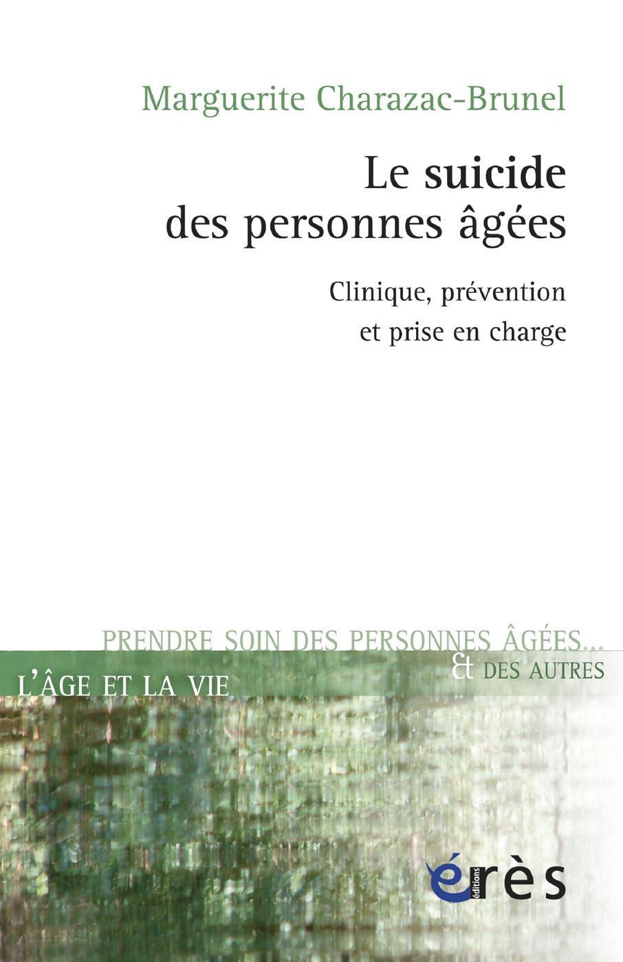 Suicide des personnes âgées - Le