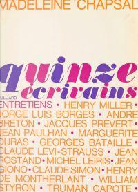Quinze écrivains