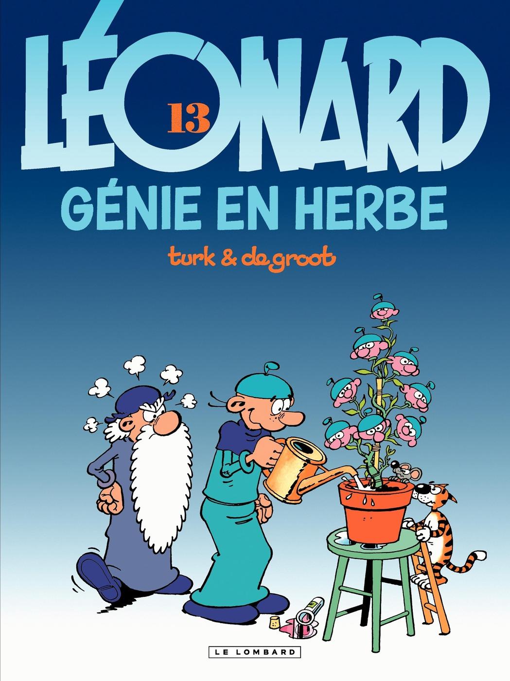 Léonard - tome 13 - Génie en herbe