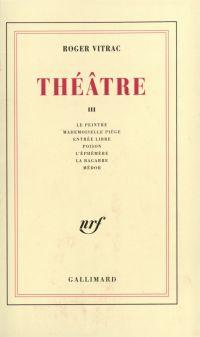 Théâtre (Tome III)