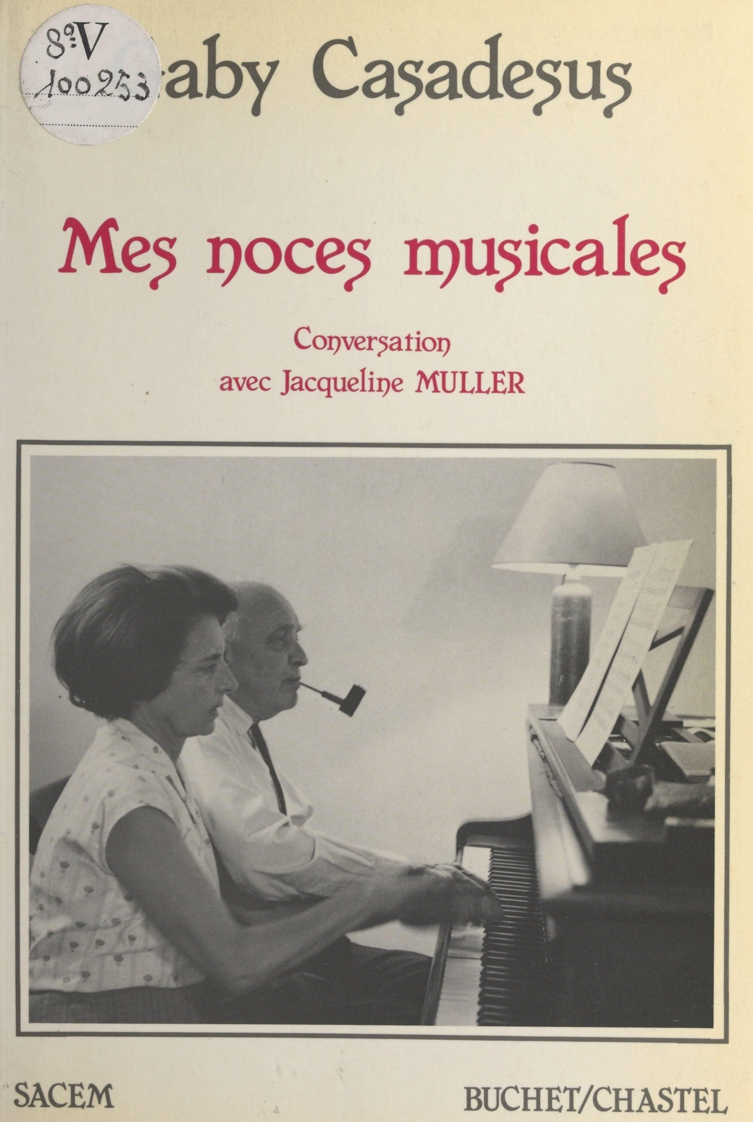 Mes noces musicales : conve...