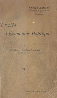 Traité d'économie politique...