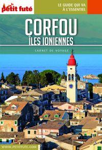 CORFOU / ÏLES IONIENNES 2018 Carnet Petit Futé | Auzias, Dominique