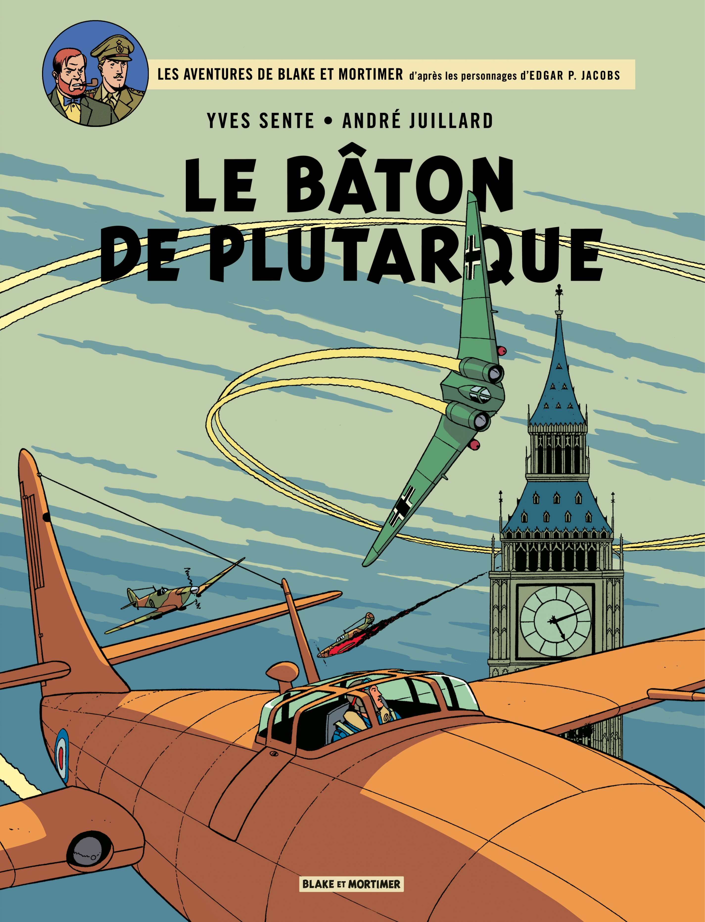 Blake et Mortimer - Tome 23 - Bâton de Plutarque (Le)