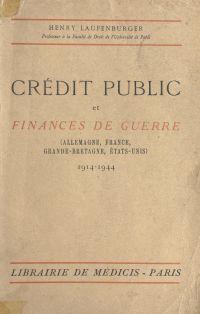 Crédit public et finances d...
