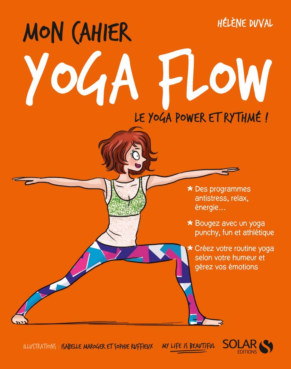 Mon cahier Yoga flow |