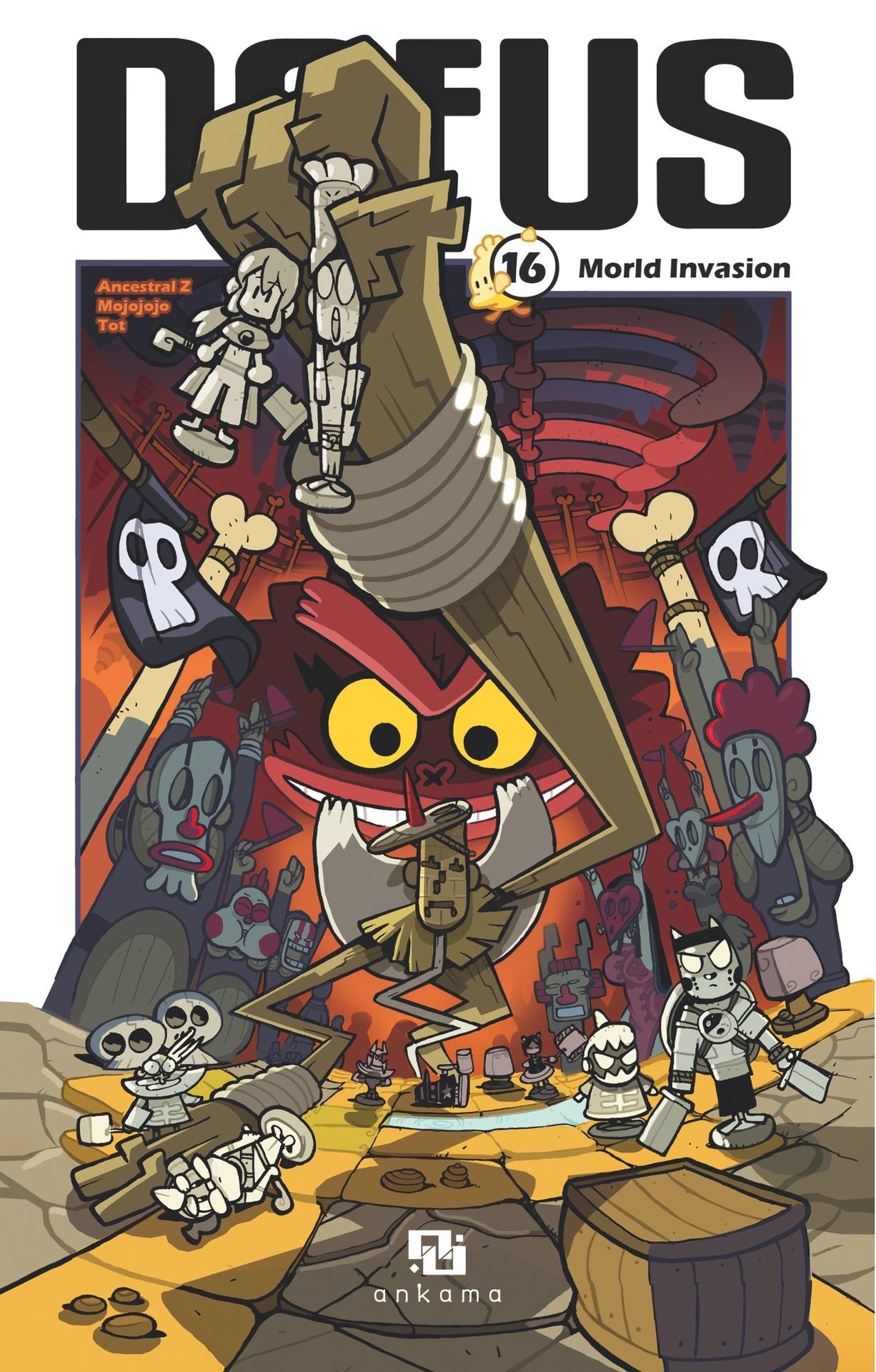 Dofus Manga - Tome 16 - Morld Invasion