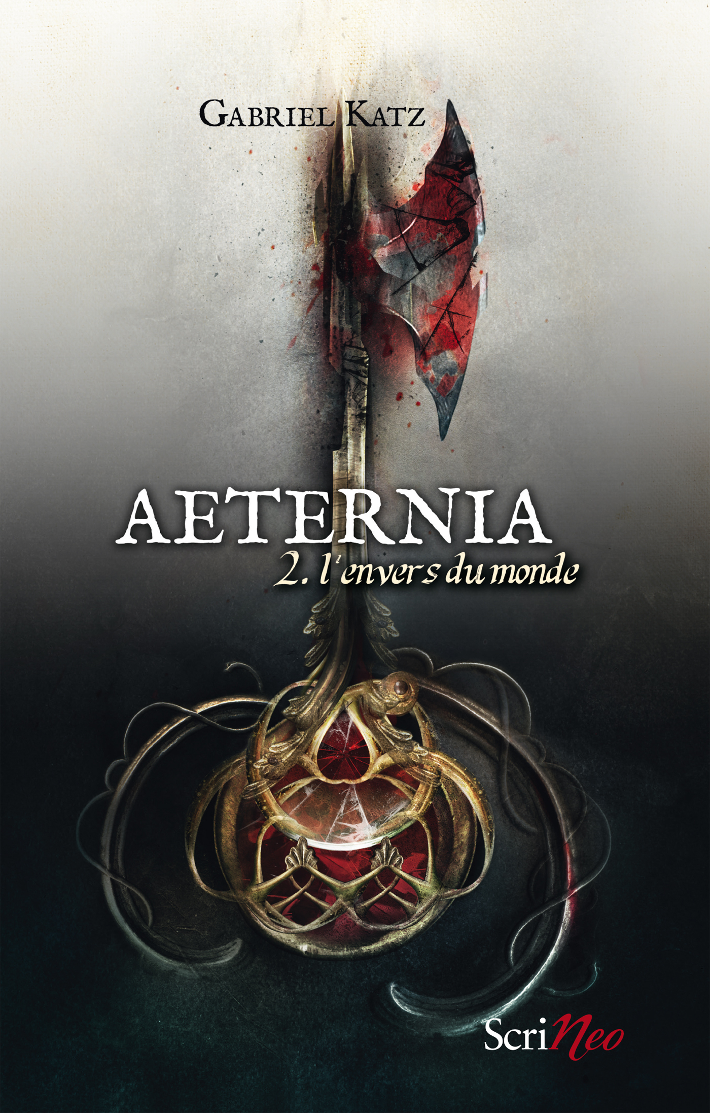 Aeternia - tome 02 - L'envers du monde