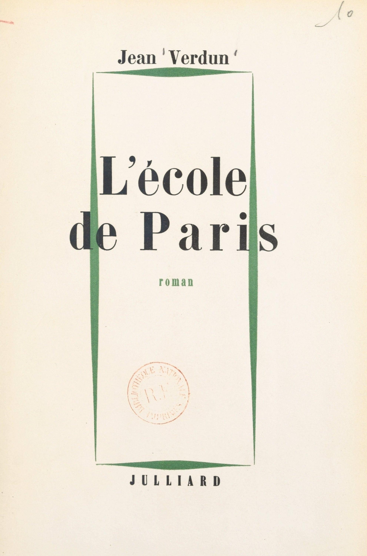 L'école de Paris