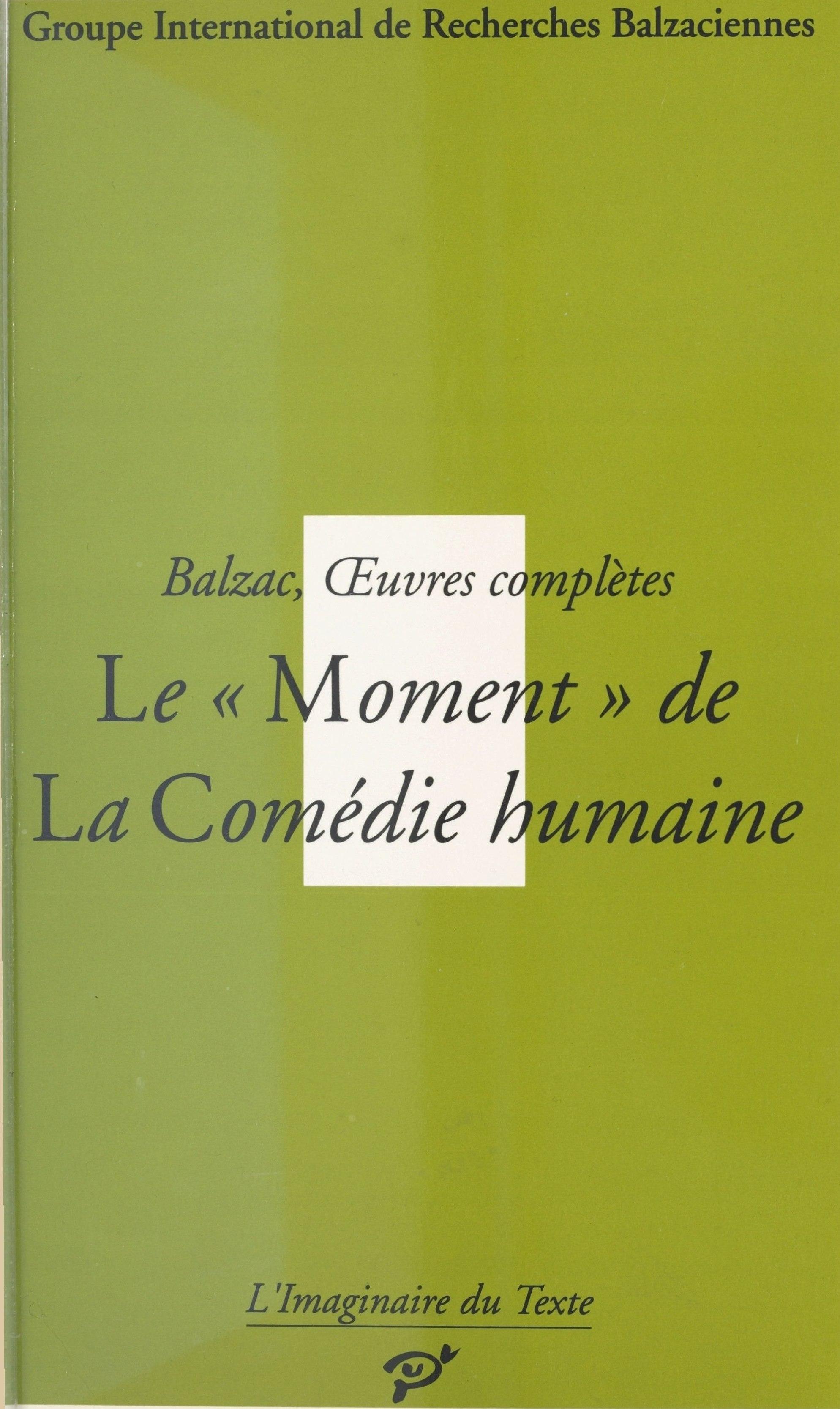 Vignette du livre Balzac, Oeuvres Complètes