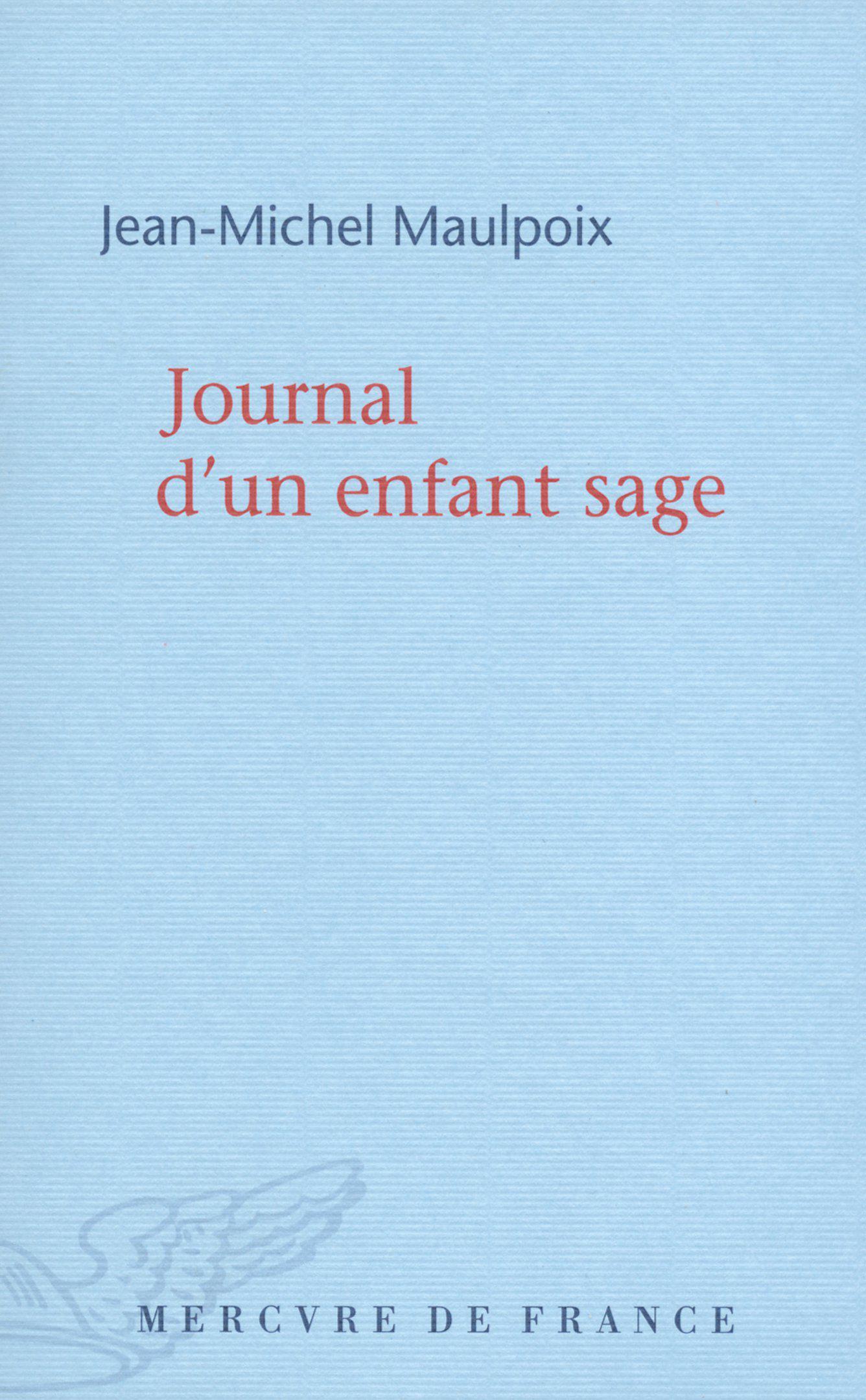 Journal d'un enfant sage