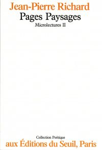 Microlectures. Pages paysages