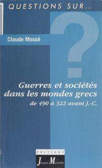 Guerres et sociétés dans le...