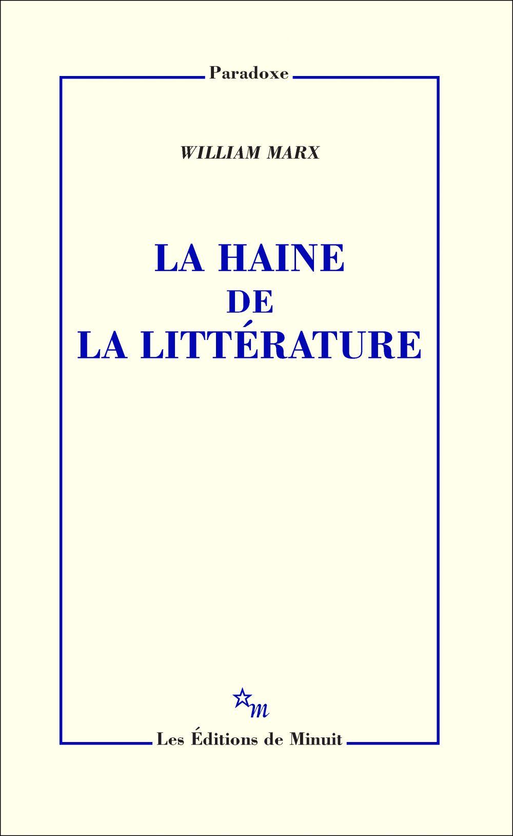La Haine de la littérature |