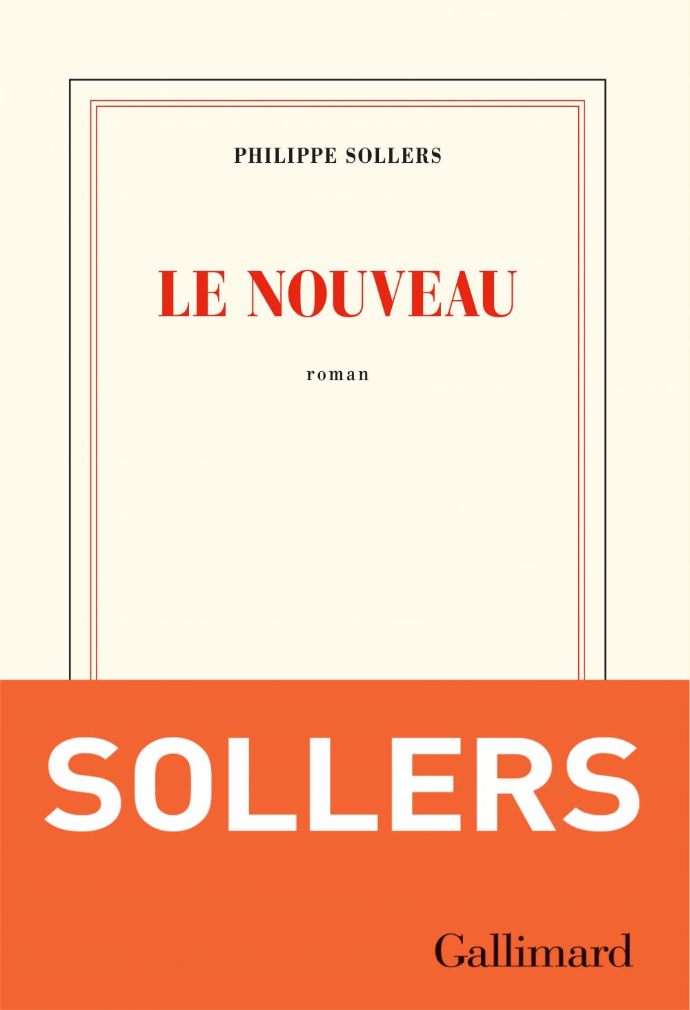 Le Nouveau | Sollers, Philippe. Auteur