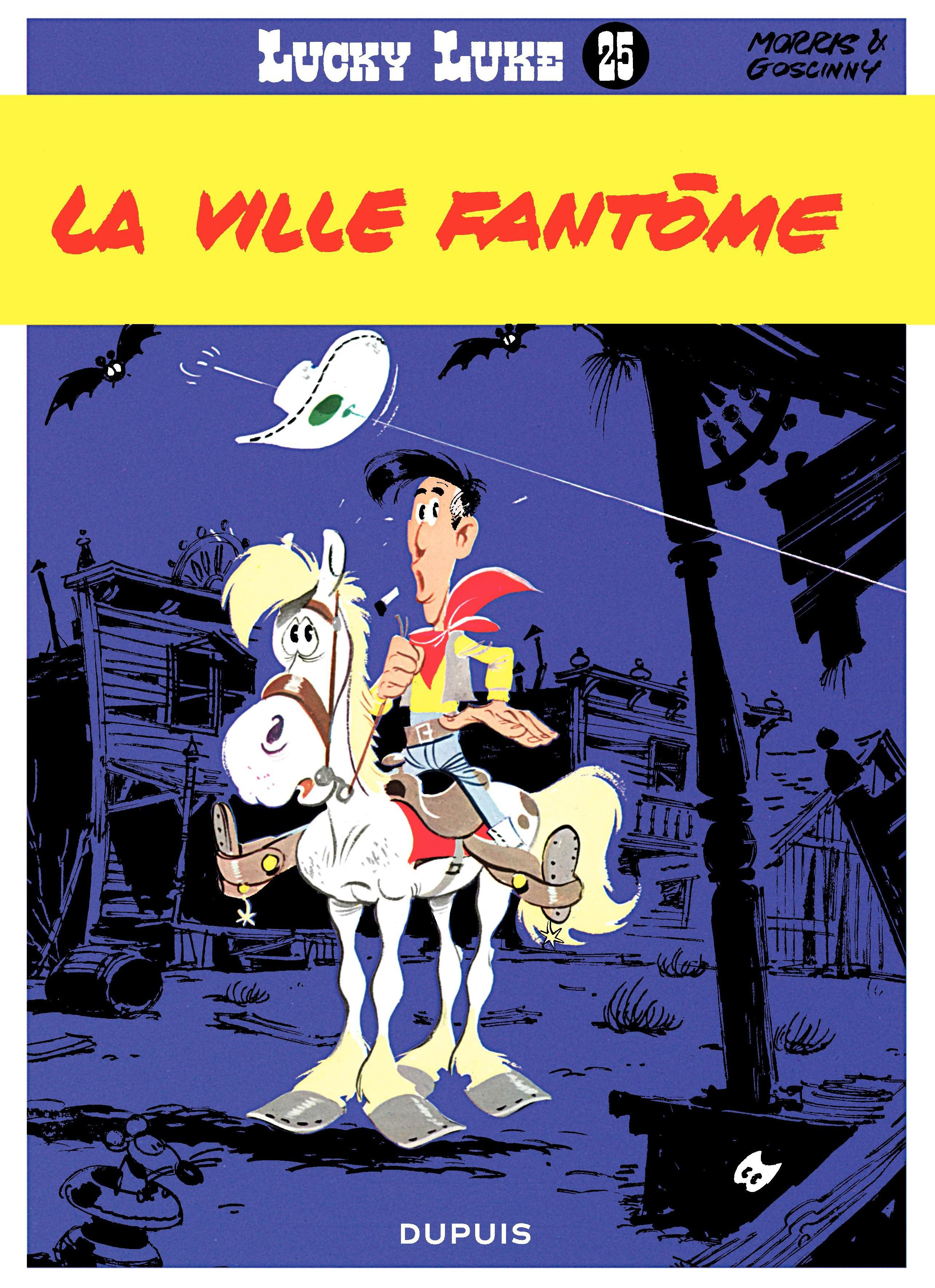 Lucky Luke - Tome 25 - LA VILLE FANTOME