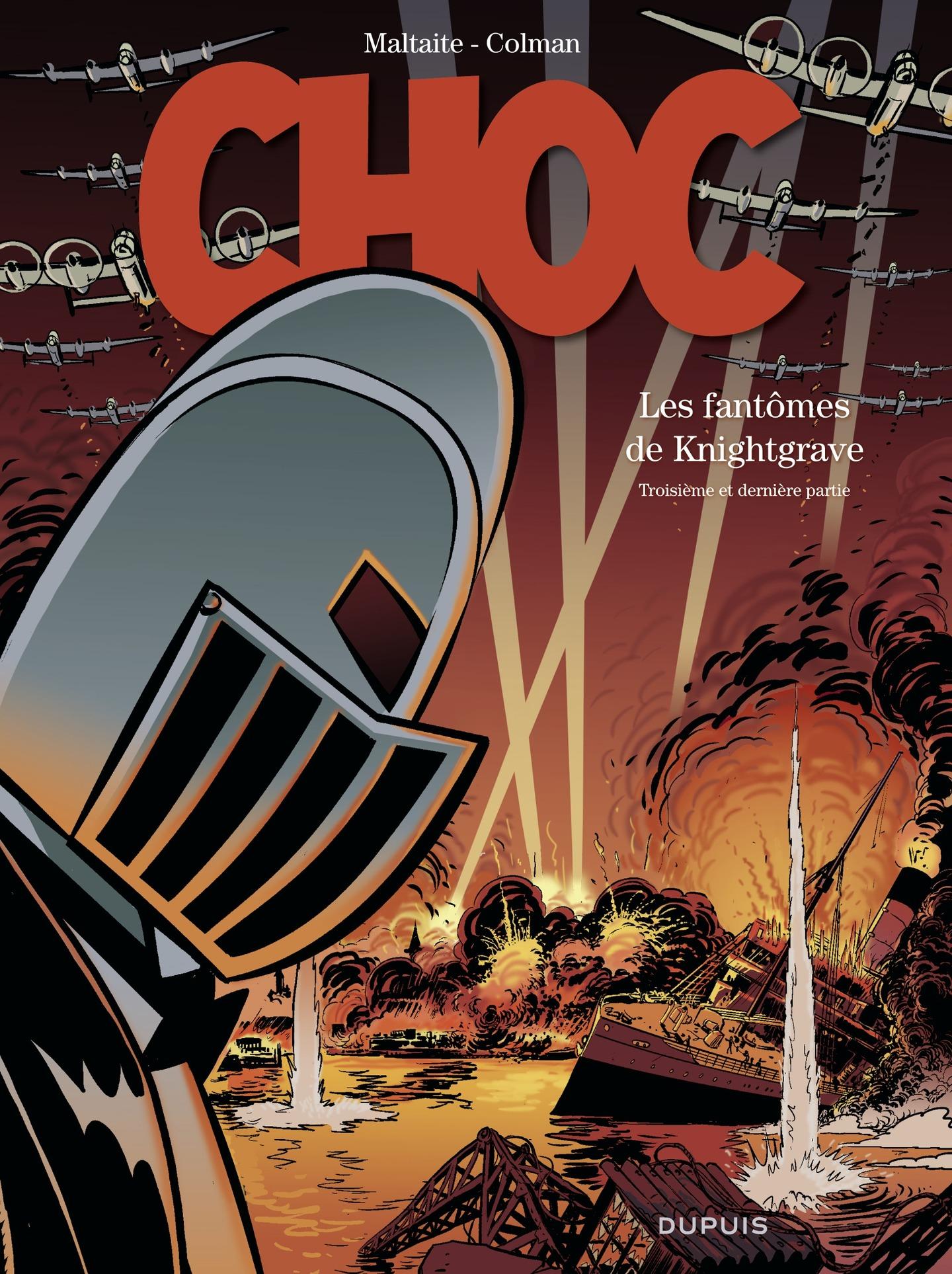 Choc - tome 3 - Les Fantôme...