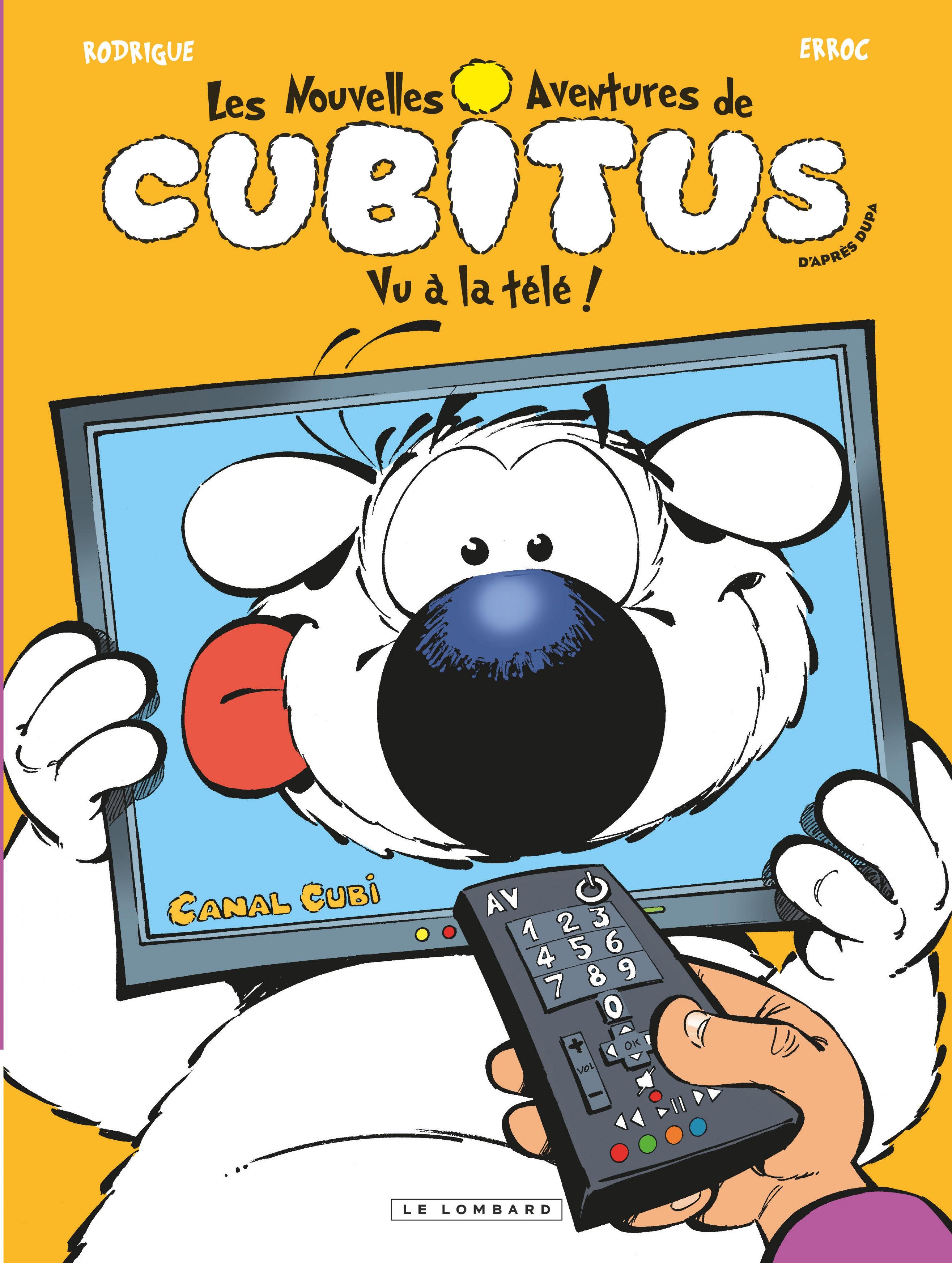 Cubitus (Nouv.Aventures) - Tome 12 - Vu à la Télé!