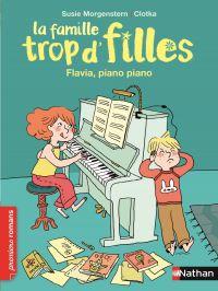 Flavia, piano piano | Morgenstern, Susie. Auteur