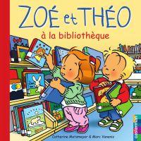 Zoé et Théo à la bibliothèque (T28)