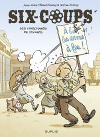Image de couverture (Six-coups. Volume 2, Les marchands de plombs)