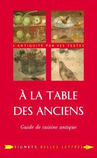 À la Table des Anciens