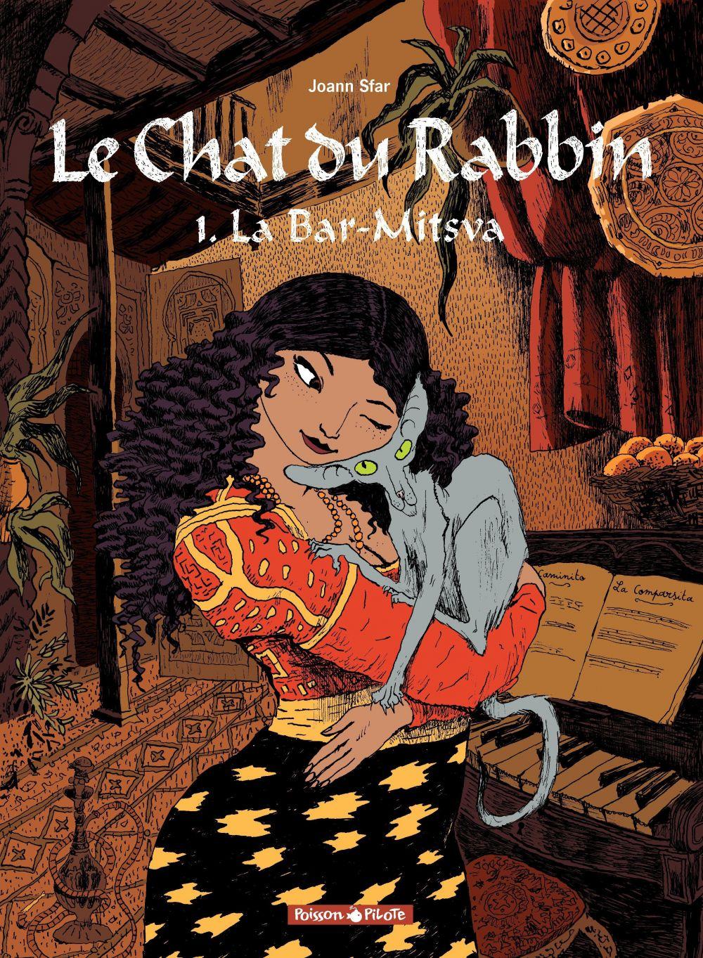 Le Chat du Rabbin – tome 1 – La Bar-Mitsva | Sfar, Joann (1971-....). Auteur