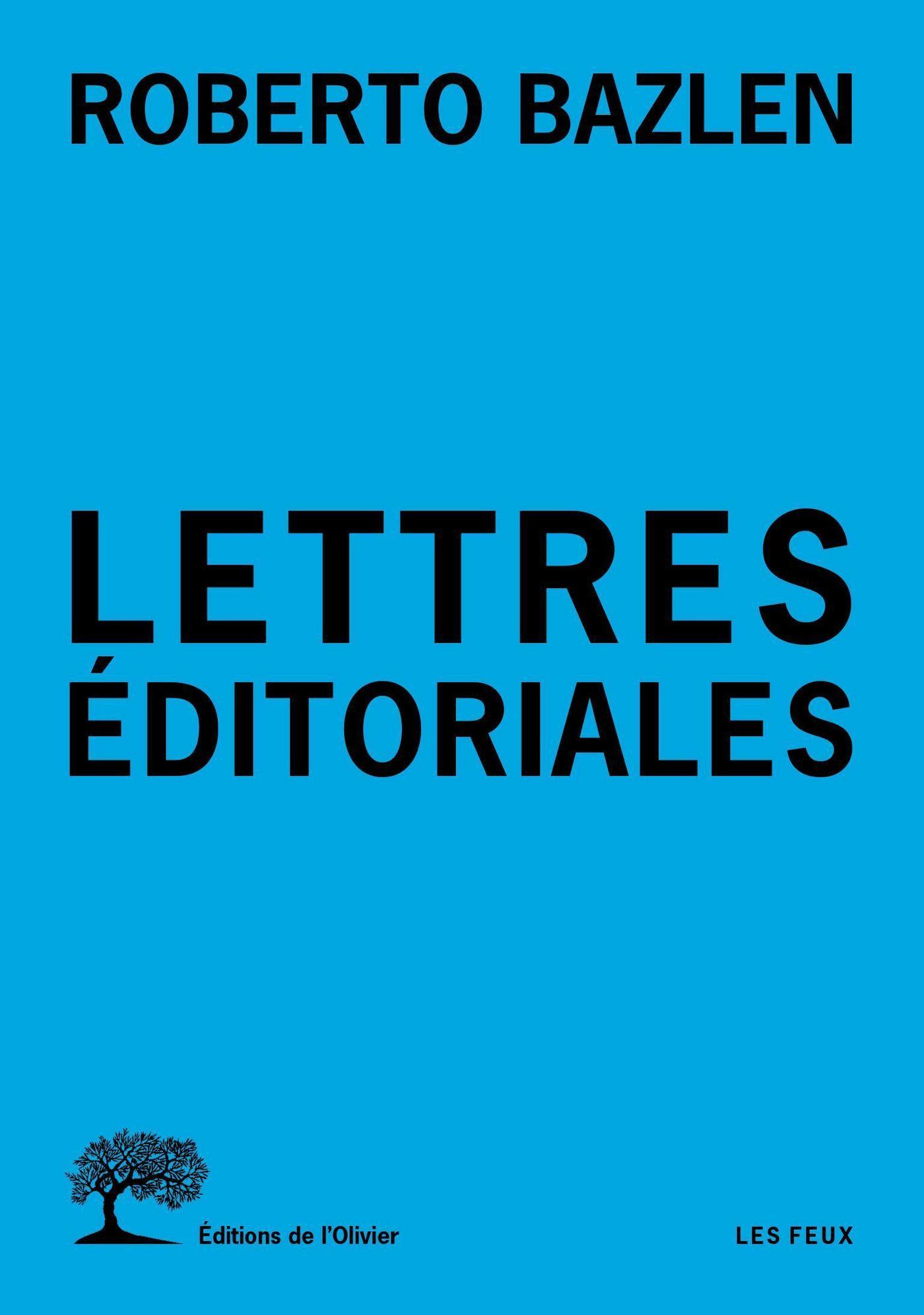 Lettres éditoriales
